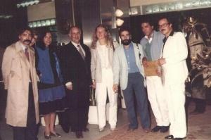 في تونس سنة 1982 يترأس مؤتمرا تقافيا.jpg